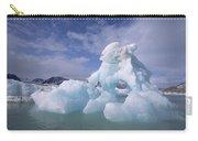 Summer Icebergs, Spitsbergen Island Carry-all Pouch