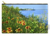 Summer In Toronto Park Carry-all Pouch by Elena Elisseeva