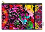 Summer Introspection Of An Extrovert Triptych Horizontal Carry-all Pouch