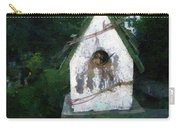 Summer Night With Birdhouse Carry-all Pouch
