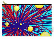 Summer Splat With Yellow Balls Carry-all Pouch