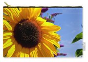 Summer Sunflower Carry-all Pouch