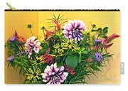 Summer To Autumn Bouquet Carry-all Pouch