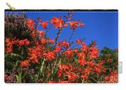 Montbretia, Summer Wildflowers Carry-all Pouch
