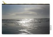 Sun And Silver Sea Carry-all Pouch