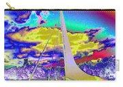 Sun Dial Bridge Redding Ca   Carry-all Pouch