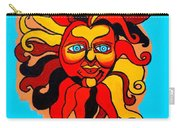 Sun God II Carry-all Pouch by Genevieve Esson