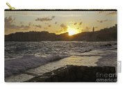 Sun Going Down Over Dubrovnik Carry-all Pouch