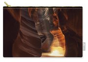 Sunbeam In Antelope Canyon Carry-all Pouch