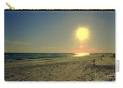 Sunburst At Henderson Beach Florida Carry-all Pouch by Susanne Van Hulst