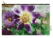 Sunburst In Lavender Carry-all Pouch