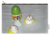 Easter Chicks And Kitties Carry-all Pouch