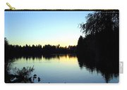 Sundown At Lost Lagoon Carry-all Pouch