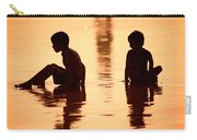 Sundown By The Bay Of Bengal II Carry-all Pouch