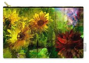 Sunflower 4 Carry-all Pouch