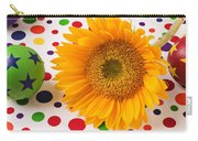 Sunflower And Colorful Balls Carry-all Pouch