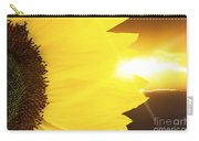 Sunflower And Sunset Carry-all Pouch