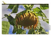 Sunflower At Fall Carry-all Pouch