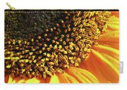 Sunflower Edge Carry-all Pouch