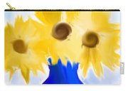 Sunflower Fantasy Still Life Carry-all Pouch