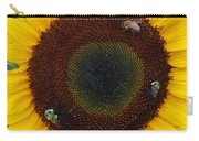 Sunflower Gathering Carry-all Pouch