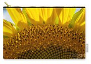 Sunflower Macro Carry-all Pouch