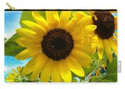 Sunflower Medley Carry-all Pouch
