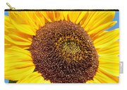 Sunflower Portrait II Carry-all Pouch