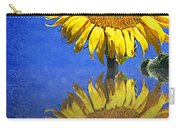 Sunflower Reflection Carry-all Pouch