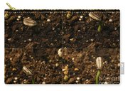 Sunflower Seedling Growth Sequence Carry-all Pouch