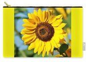 Sunflower Small File Carry-all Pouch