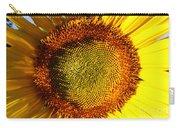 Sunflower Sunburst Carry-all Pouch