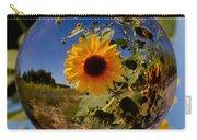 Sunflower Through A Glass Eye Carry-all Pouch