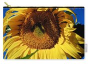 Sunflower Up Close Carry-all Pouch