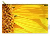 Sunflower Yellow Carry-all Pouch