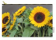 Sunflowers At Pikes Market Carry-all Pouch