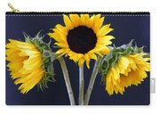 Sunflowers Three Carry-all Pouch