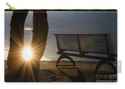 Sunlight And Bench Carry-all Pouch