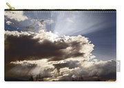 Sunlight And Stormy Skies Carry-all Pouch by Mick Anderson