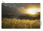 Sunlight Glowing At Sunset And Carry-all Pouch