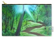 Sunlight In The Forest Carry-all Pouch