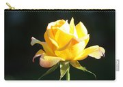 Sunlight On Yellow Rose Carry-all Pouch