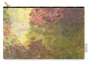 Sunlit Bricks Abstract Carry-all Pouch