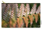 Sunlit Red Fern Carry-all Pouch
