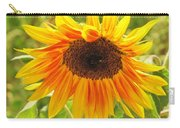 Sunny Bright Sunflower Carry-all Pouch