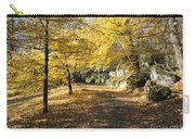 Sunny Day In The Autumn Park Carry-all Pouch