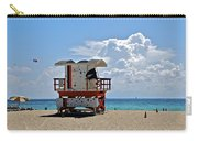Sunny Day Miami Beach Carry-all Pouch