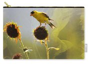 Sunny Finch Carry-all Pouch