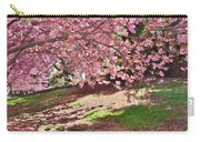 Sunny Patch Under The Cherry Trees Carry-all Pouch