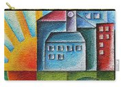 Sunny Town Carry-all Pouch by Jutta Maria Pusl